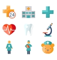 Medical care and health vector image