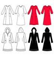 House dress nightdress vector image vector image