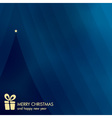 abstract new year card vector image