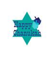 chanukah graphic with dreidels vector image