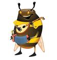 Bumblebee vector image vector image