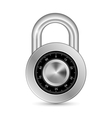 Closed Padlock vector image vector image