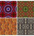 Mandala seamless pattern oriental vector image