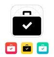 Check case icon vector image vector image