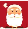 Fullface Santa Red vector image