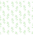 seamless pattern composed of leaves and branches vector image