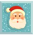 Fullface Santa Blue vector image