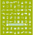 Set of crime icons vector image