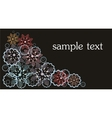 Background design for your text vector image vector image