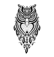 Decorative Owl Ethnic pattern vector image