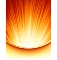Abstract burst card Template EPS 8 vector image vector image
