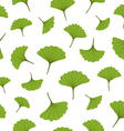 Ginkgo pattern vector image vector image