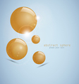 abstract 3d sphere vector image