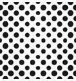 big halftone circles seamless pattern halftone vector image