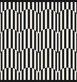 black and white stripes seamless pattern texture vector image