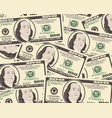 dollar background vector image