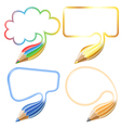Collect Speech Bubble vector image