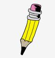 pencil vector image vector image