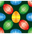 Easter seamless pattern Eggs design vector image