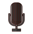 microphone music icon image vector image