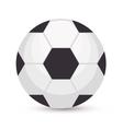 football brazilian sport emblem vector image