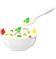 italian rice vector image