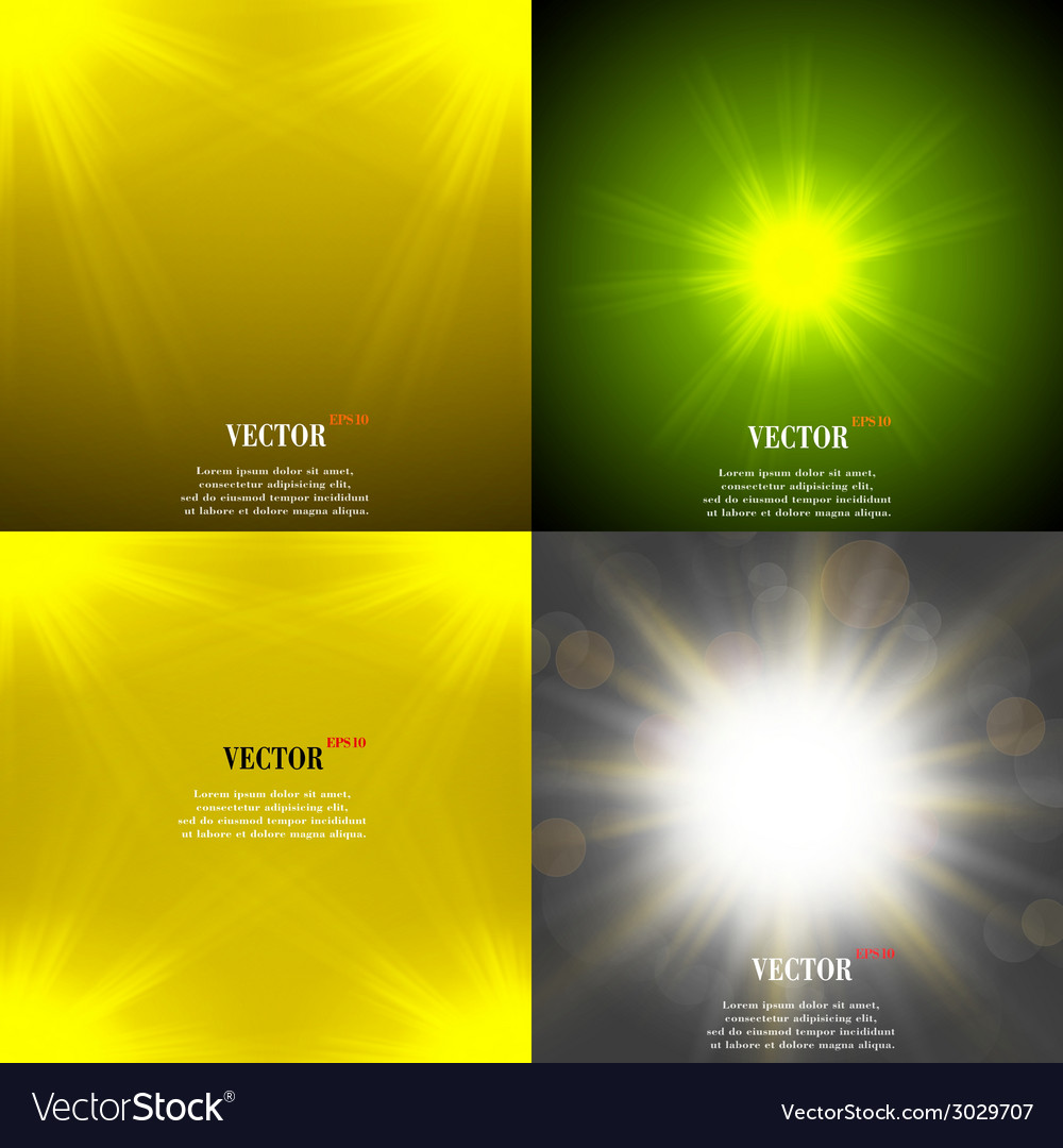 Summer sun light burst if you enjoy the hot and vector