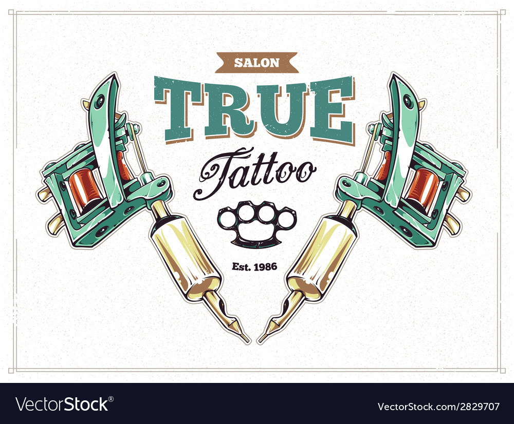 Tattoo print 1 vector