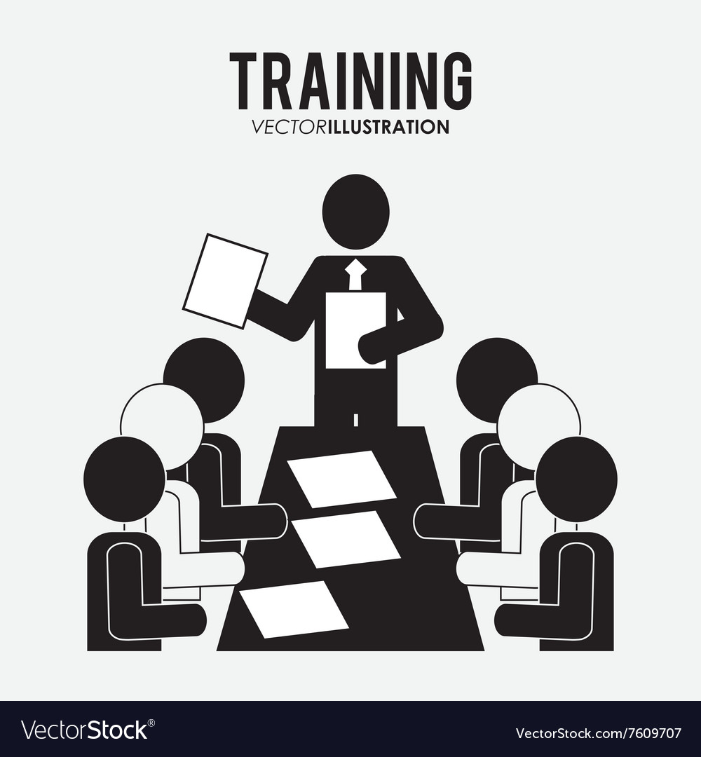Training icon design vector