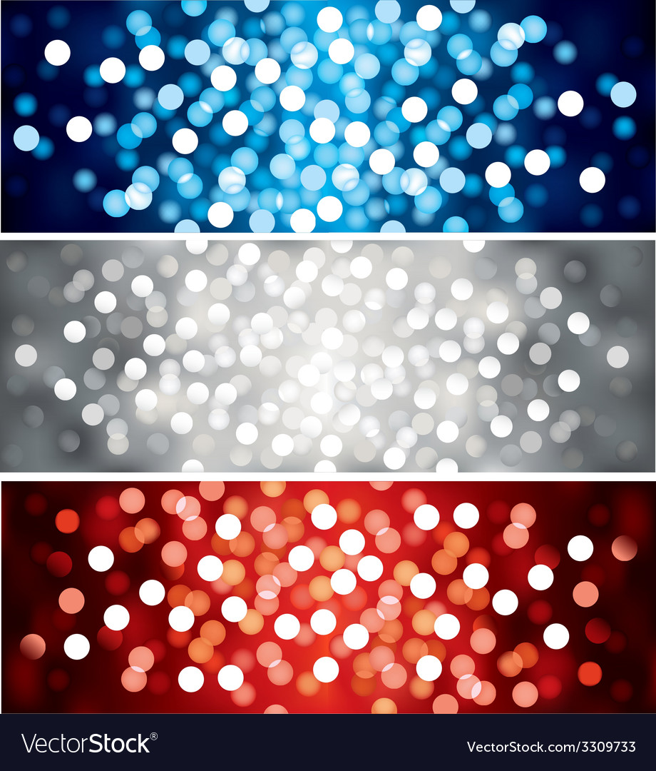 Defocused lights vector