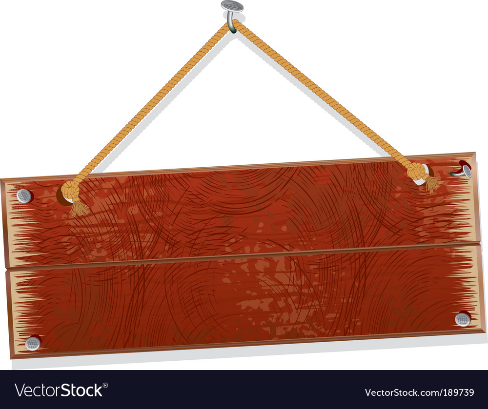 Old board vector