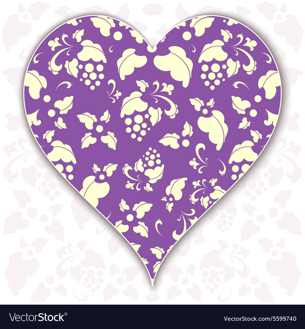 Heart valentine vector