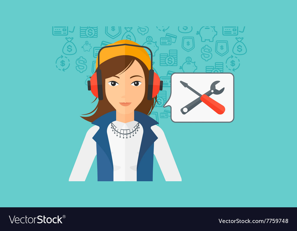 Operator of technical support vector