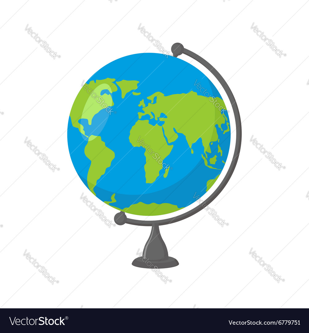 School globe  model of earth model of celestial vector