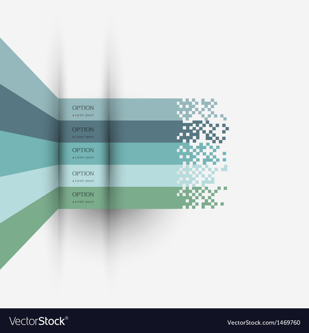 Infographics design variation 3 vector