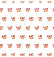 cute bear pattern vector image