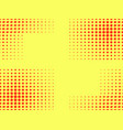 pop art seamless pattern halftone background vector image