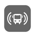 bus wi-fi icon vector image