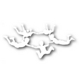 freefall kids cutout vector image