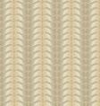 Golden wavy pattern vector image
