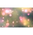 Bokeh romantic background vector image