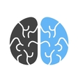 Brain Head vector image