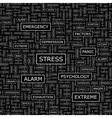 STRESS vector image