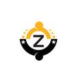 Success life coaching initial z vector image