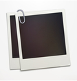 polaroid photo frames vector image