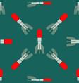 missile rocket seamless pattern vector image
