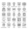 Program Coding Icons vector image