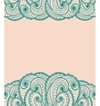 Green and pink card vector image