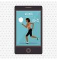 wellness lifestyle design vector image
