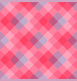 diagonal geometric pattern pink tablecloth vector image